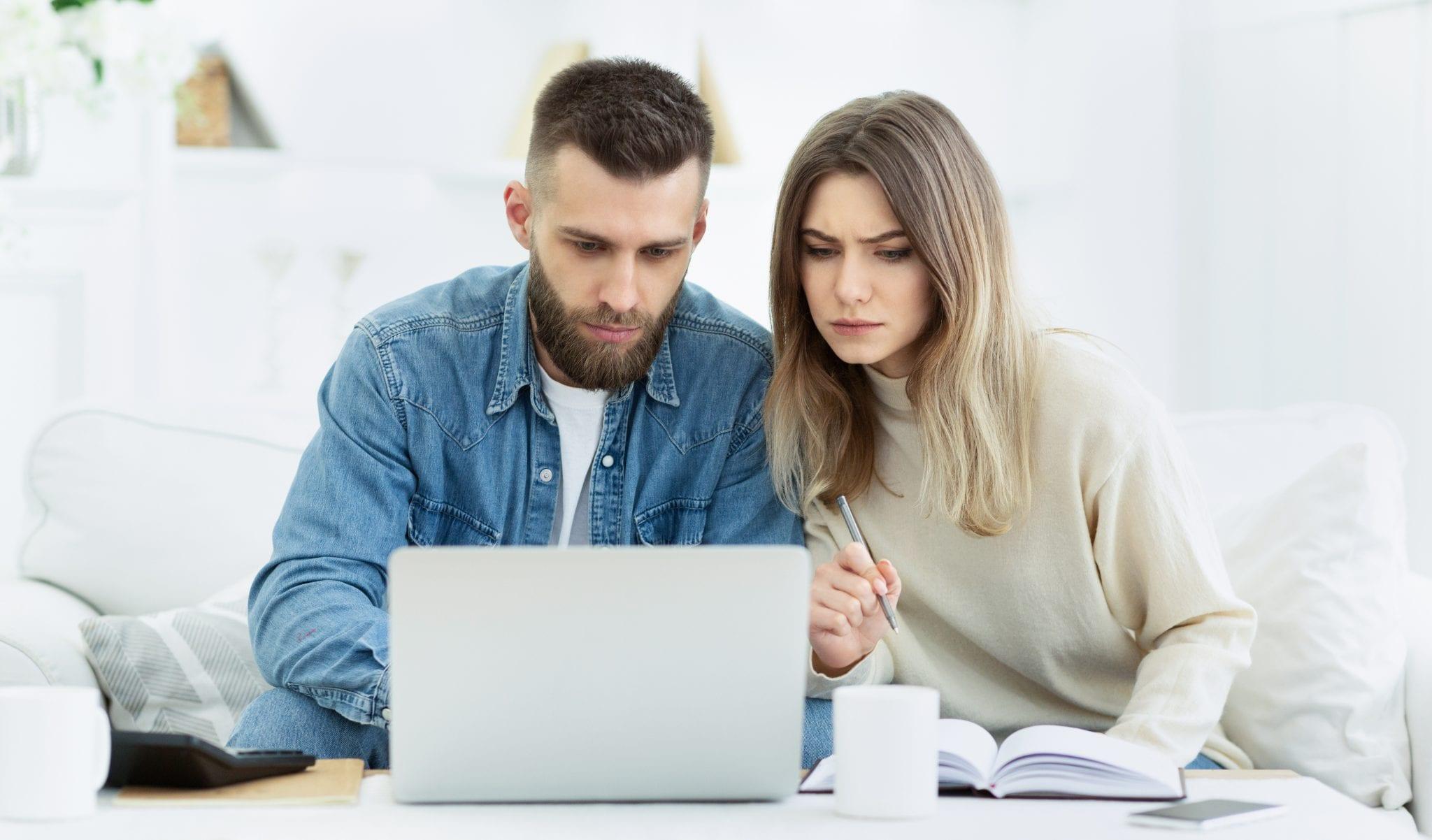 Couple in Debt