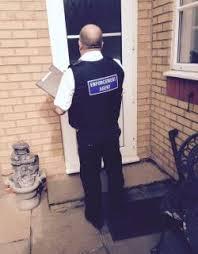 CCS Bailiffs knocking on door